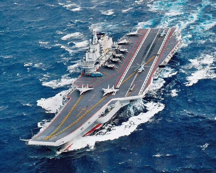 遼寧號。資料圖片