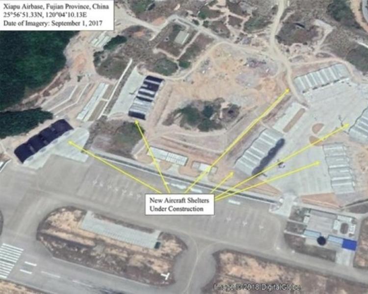 水門機場進行擴建工程。網圖
