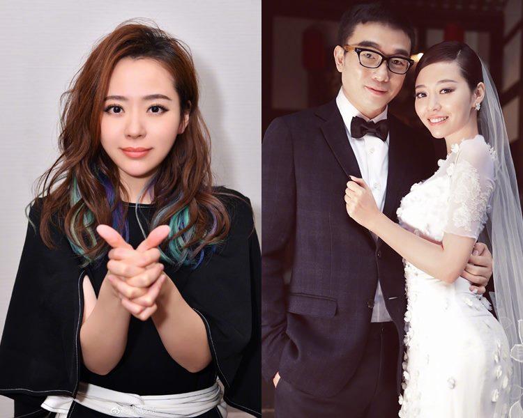 張靚穎在前年11月與經理人馮軻結婚。(網圖)