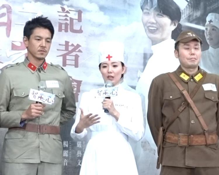 《智子之心》講述了台南富家女「林智惠」二戰期間志願成為日軍隨軍護士的故事。網圖