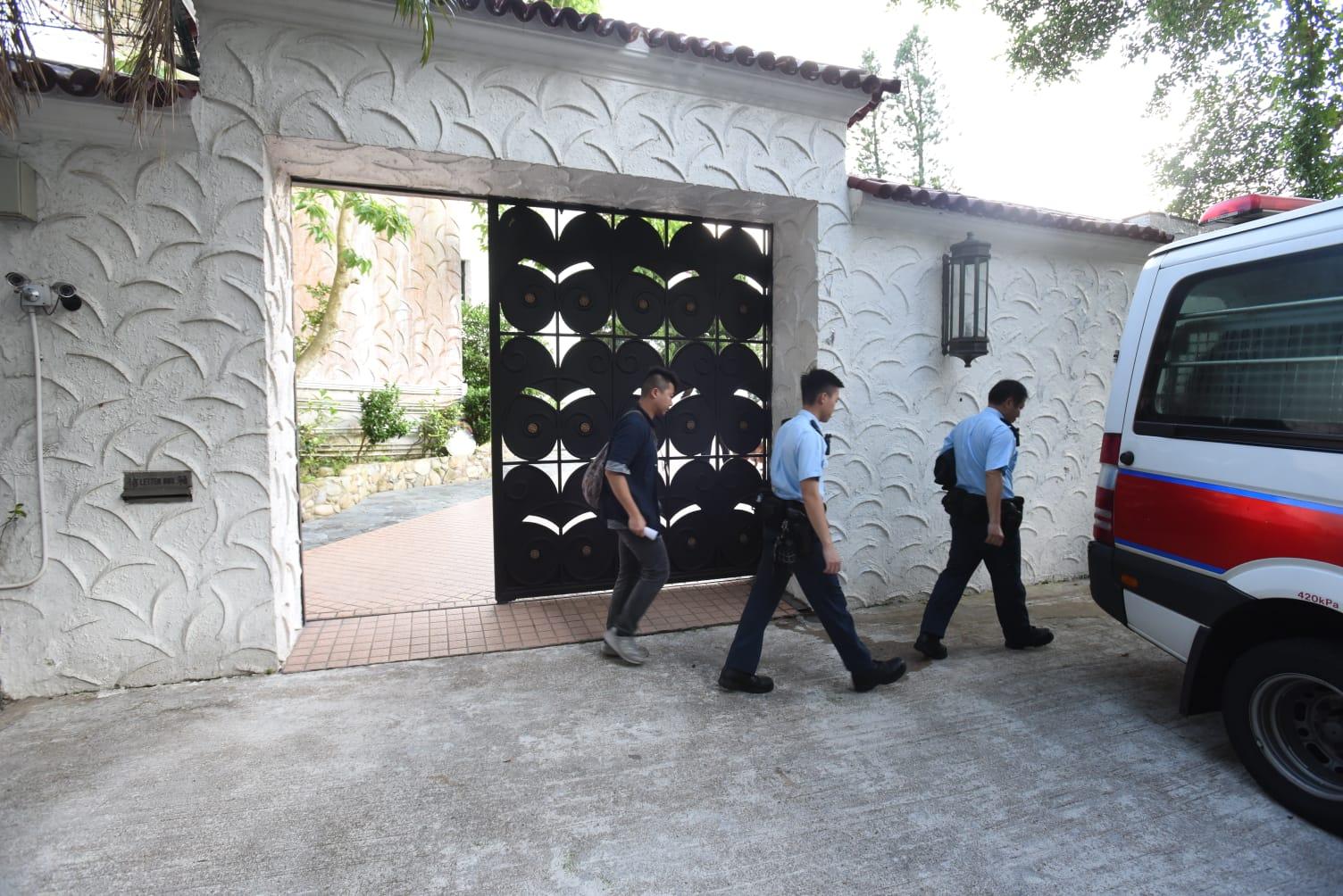 鄭裕彤淺水灣大宅被爆竊。