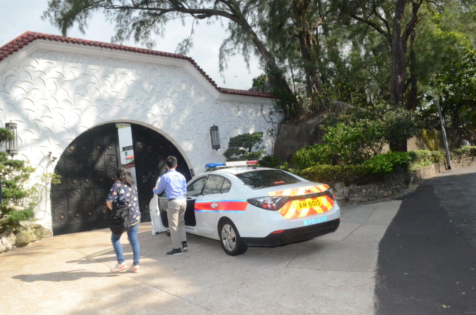 警方到場調查。
