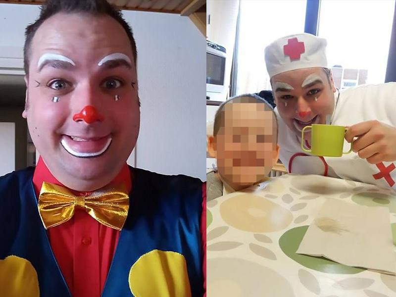 一名職業小丑涉嫌一宗謀殺前女友的案件被比利時警方逮捕。(網圖)