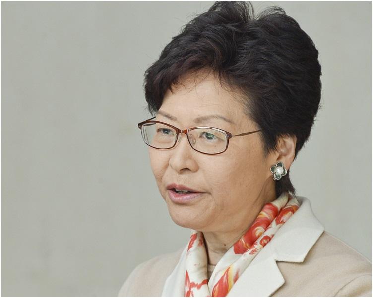 林鄭月娥到廣州科學城參觀再生醫學公司。