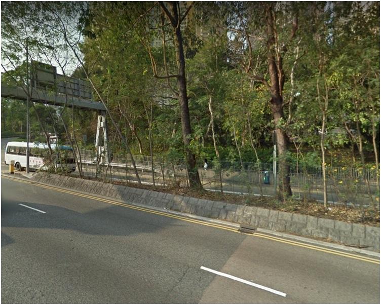 現場是龍翔道近鑽石山荷里活廣場對開一段路。網圖