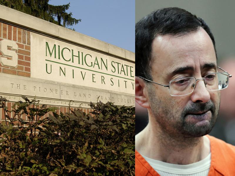 54歲的美國體操國家隊前隊醫納薩爾,涉嫌性侵少女,他的前僱主密西根州立大學與被害人達成和解。(資料圖片)