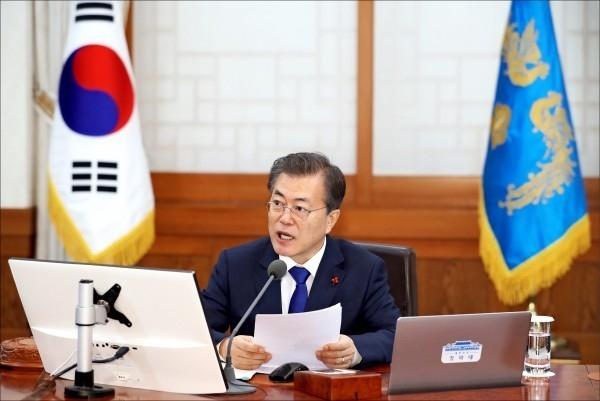 南韓國家安全保障會議決定,與北韓協商推動重啟兩韓會談。(AP)