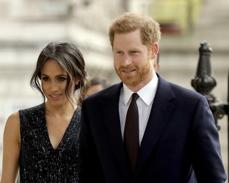 哈里王子和梅根的大婚典禮舉行在即。AP