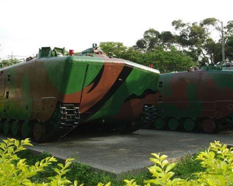 海軍陸戰隊兩棲履車。