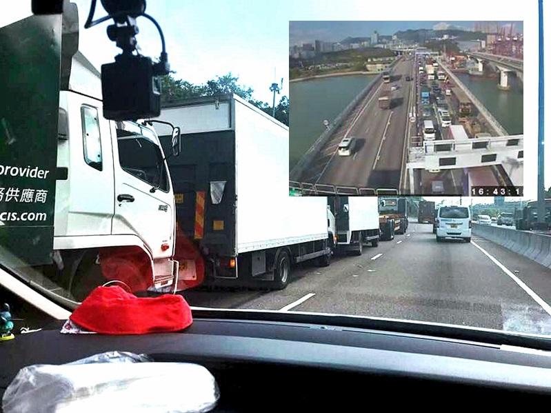 屯門公路車禍。