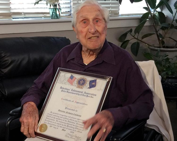 年屆101歲的卡拉布雷塞。AP