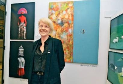 VRG*畫廊平台及Van Rensburg Galleries的創辦人Beulah Van Rensburg。
