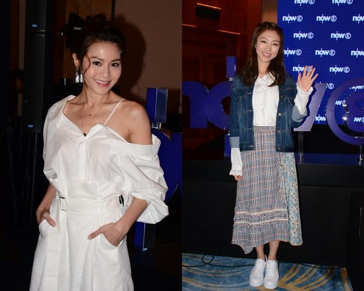 周秀娜話會幫無綫劇到內地宣傳;顏卓靈笑言不追韓劇是非一般女士。