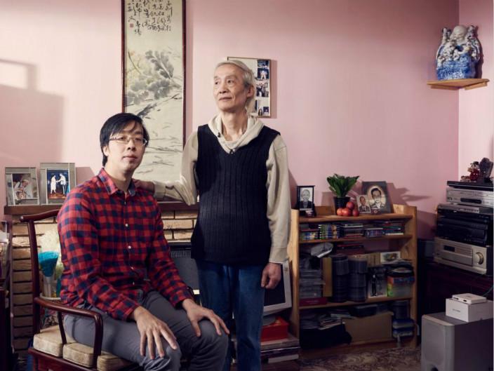 梁杏賢的兒子Kieth及丈夫