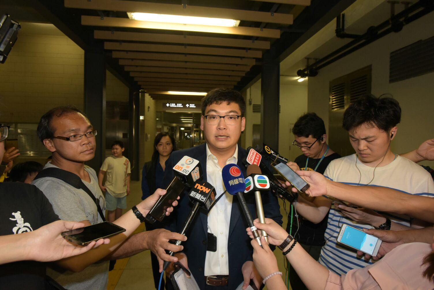 警方東九龍總區刑事總部高級督察盧文輝。黃文威攝