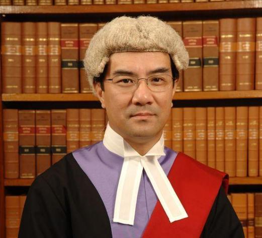 法官陳慶偉。網上圖片