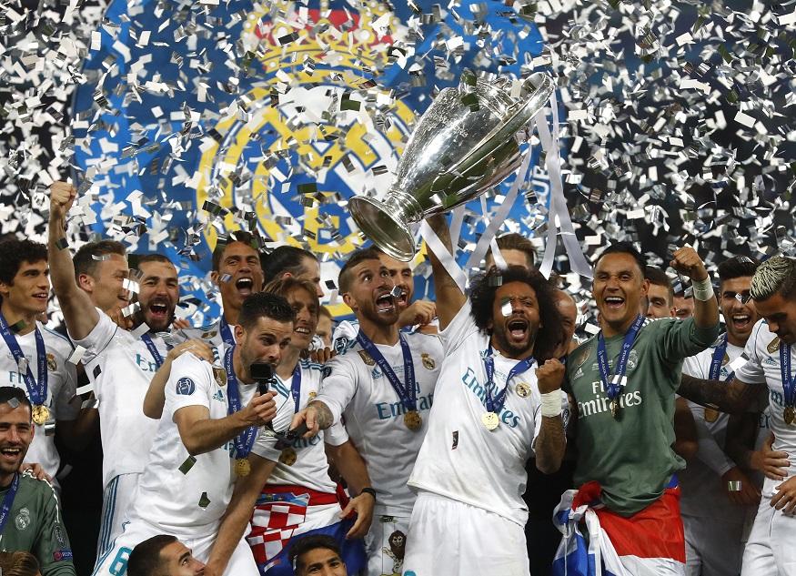 皇家馬德里以勝利者姿態,穩保「歐聯三連霸」。