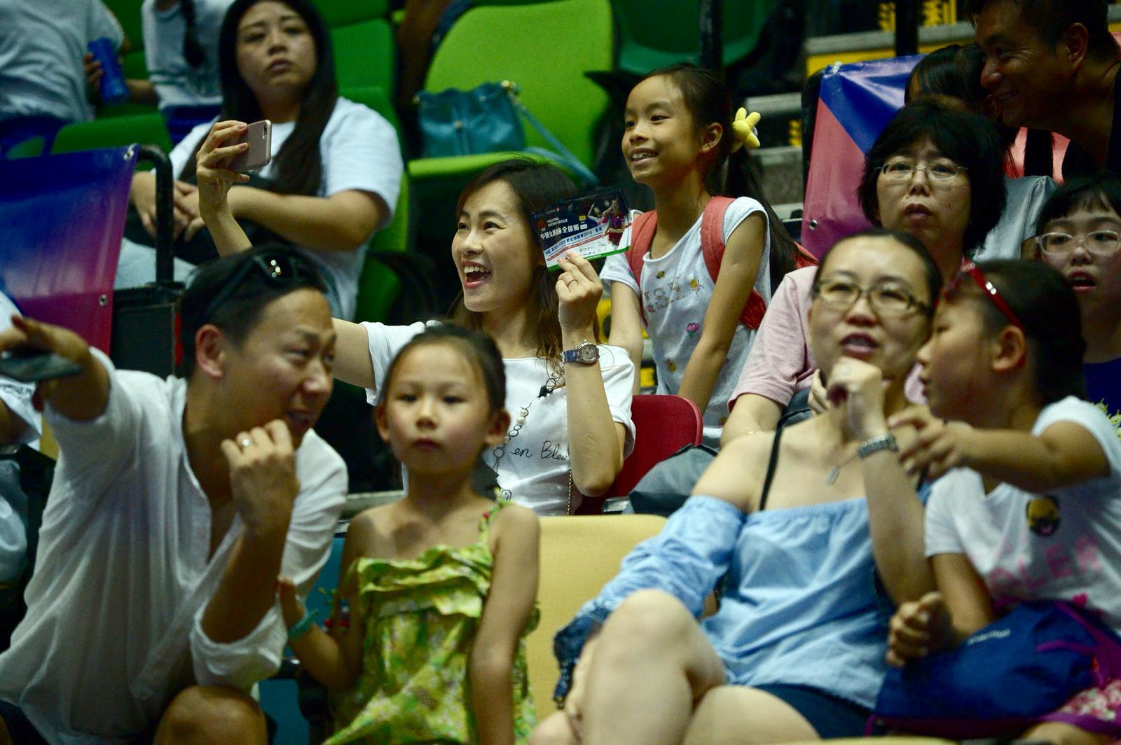 中國女排下午進行第2課操練