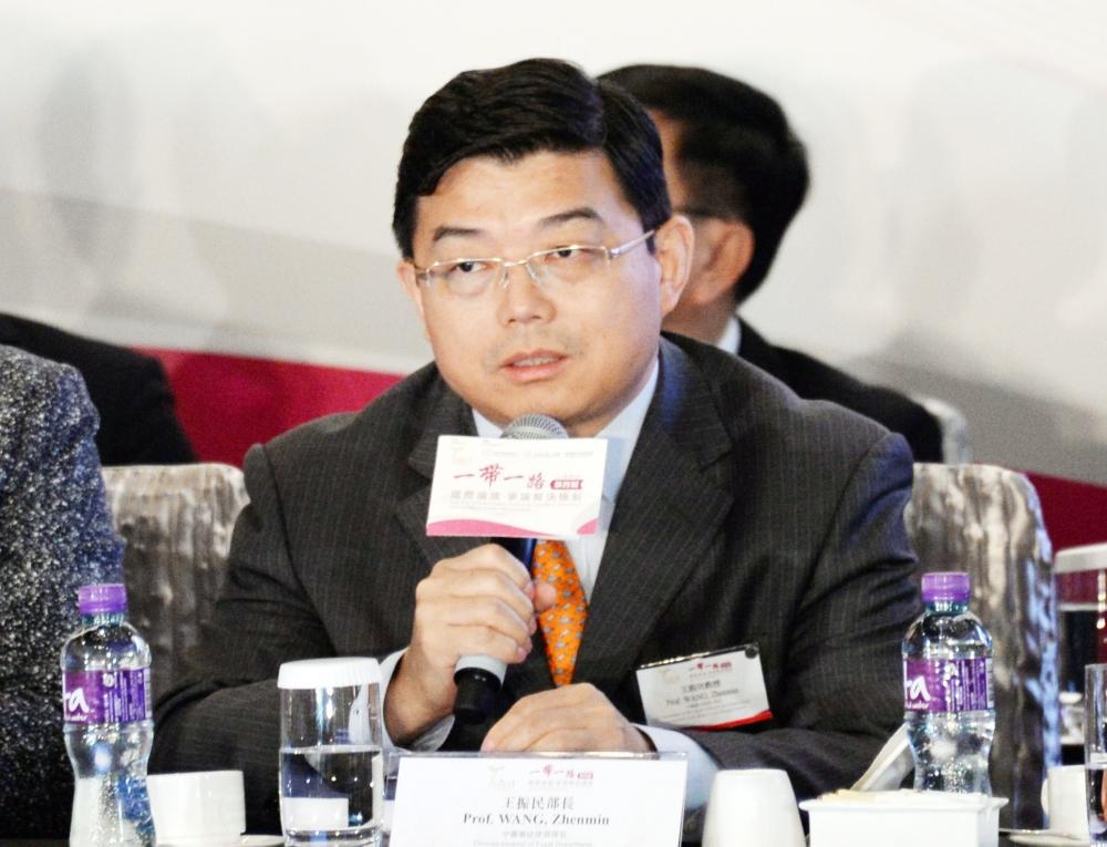 王振民指香港失去法治就失去一切。資料圖片