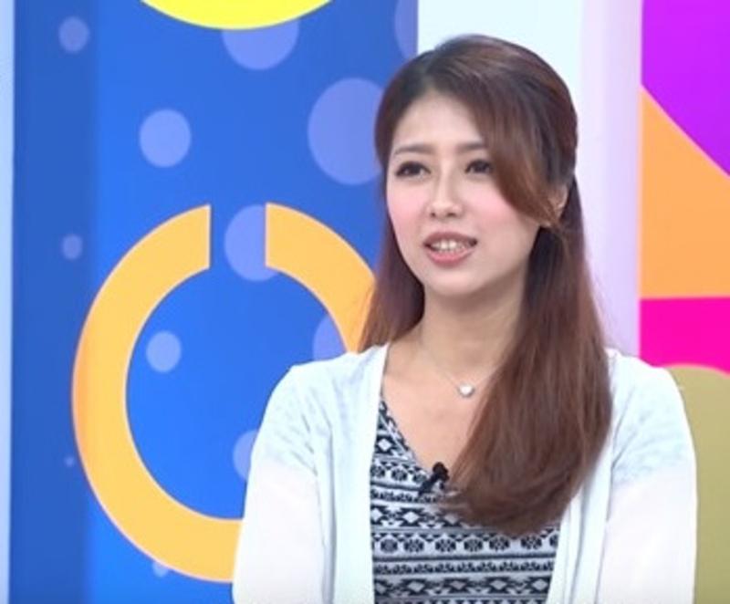 施靖娟外型甜美,經常出現在綜藝節目,很受觀眾歡迎。(網圖)