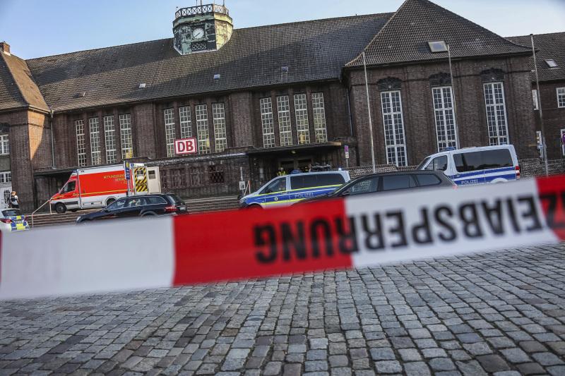 德國一列車上發生斬人案,1死2傷。AP
