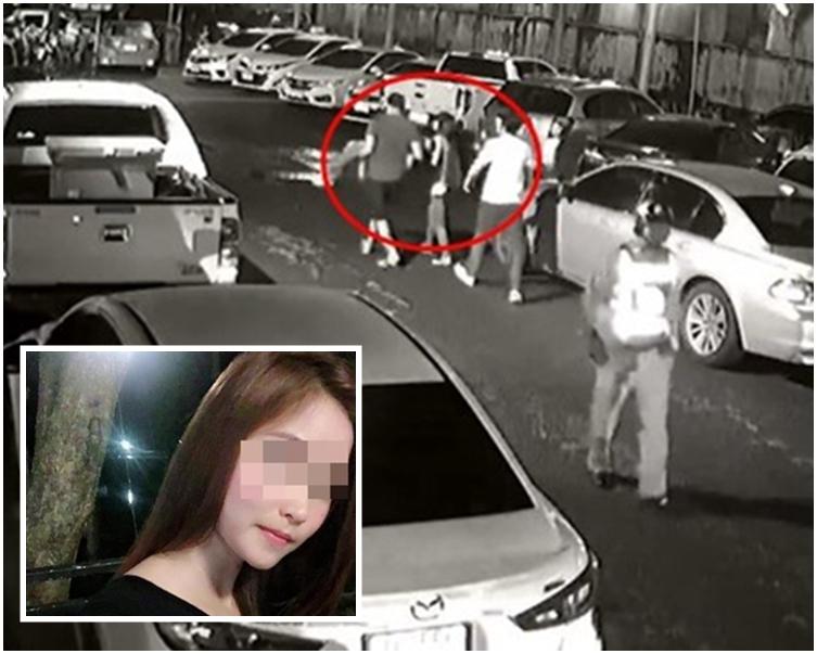 女死者疑遭4名陌生男子抬至空地輪流性侵。網圖