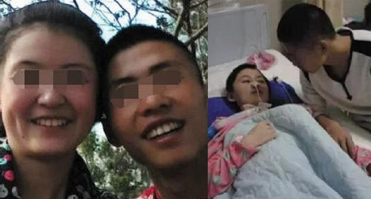 林鶯鶯被男友打傷變植物人後,男友一直訛稱女友跌傷,在她昏迷期間悉心照顧。
