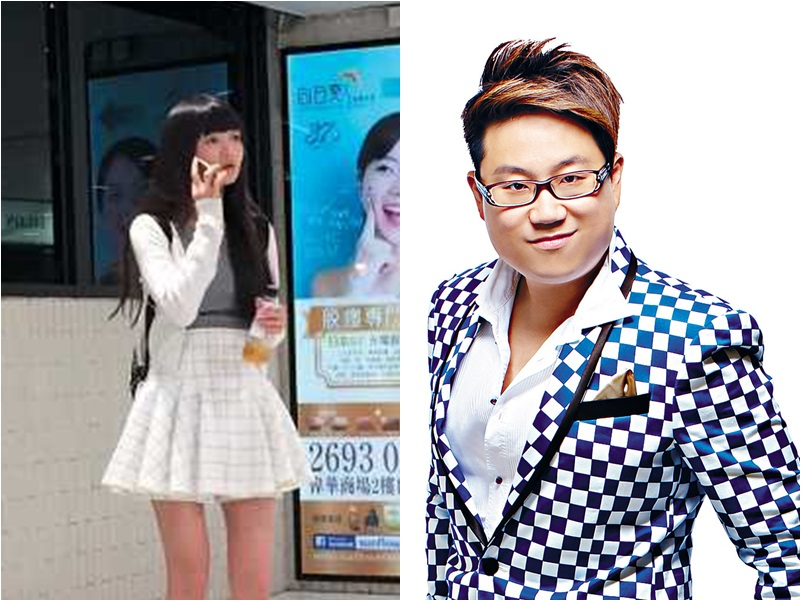 蕭源和太太蔡怡(右)被廉署落案起訴。資料圖片