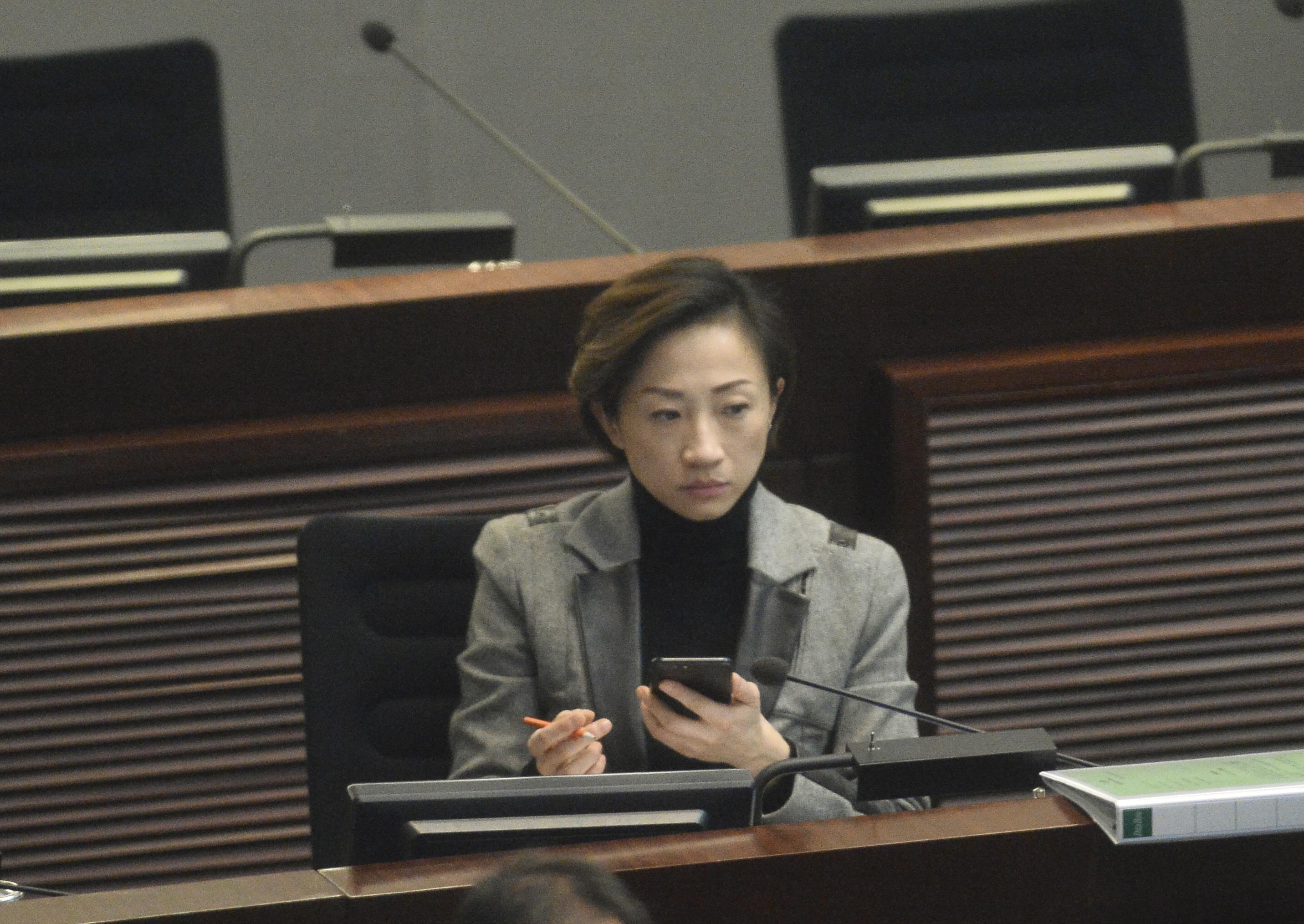 公民黨陳淑莊。資料圖片