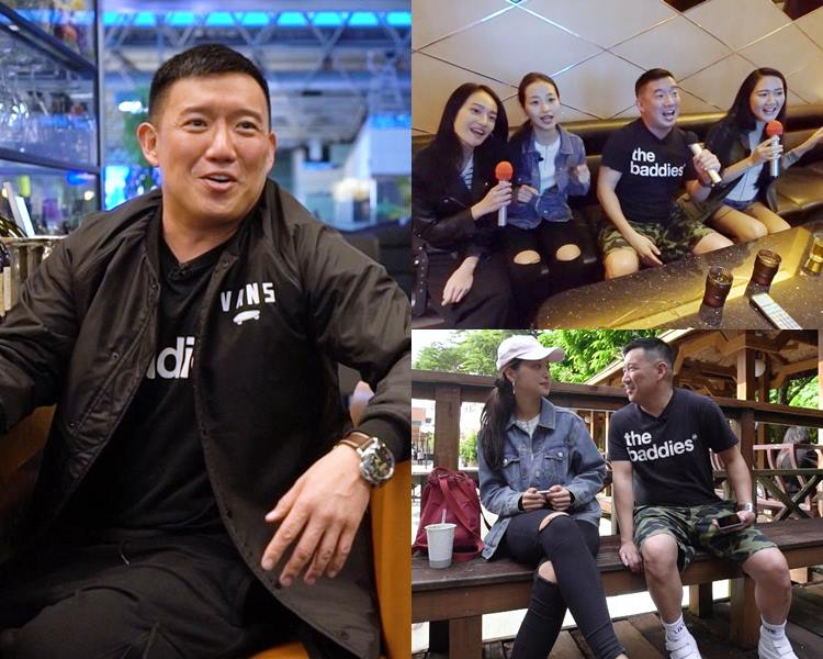 杜汶澤成功邀得三位正妹放學一起去唱K。