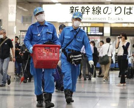 意外發生於日本新幹線。網圖