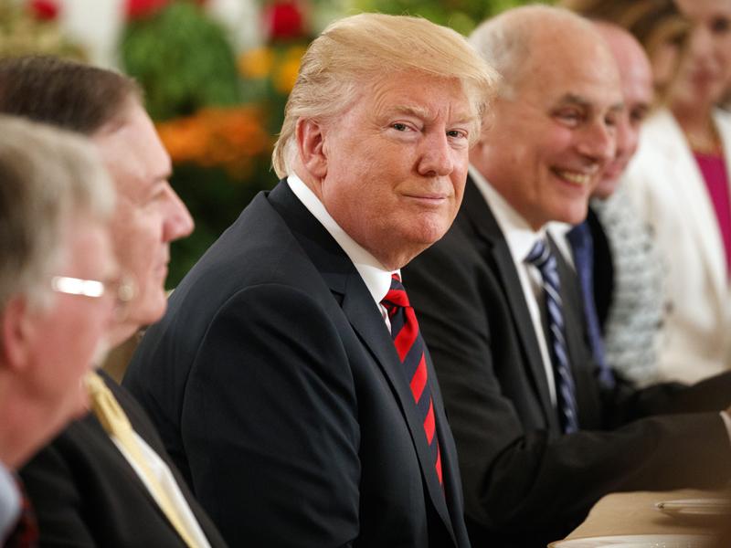 特朗普發文表示很快就能知道「特金會」究竟是否可以達成真正的協議。AP