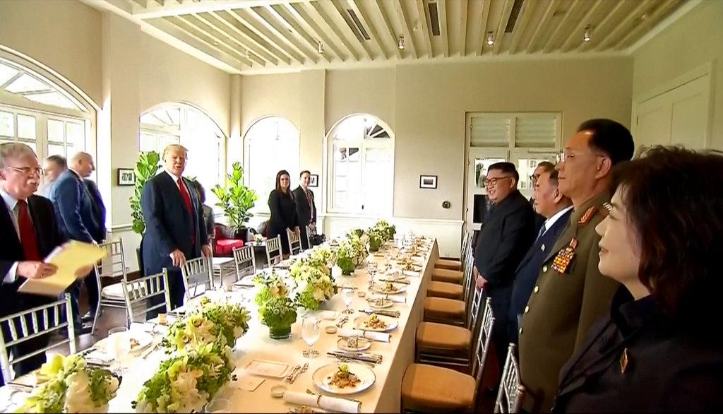 餐單中包括亞洲多國的蔬菜。AP