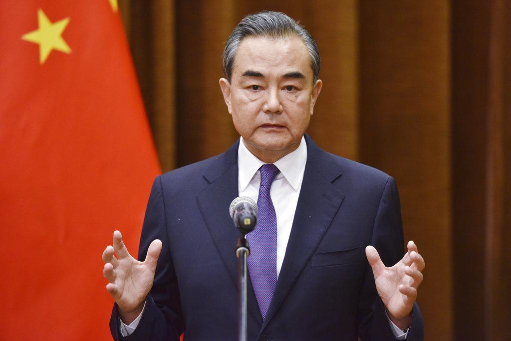 王毅對美國朝鮮歷史性峰會表達歡迎支持。AP圖片
