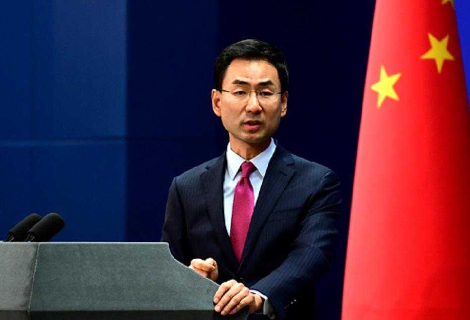 外交部發言人耿爽表示,中方正在密切關注形勢發展。網上圖片