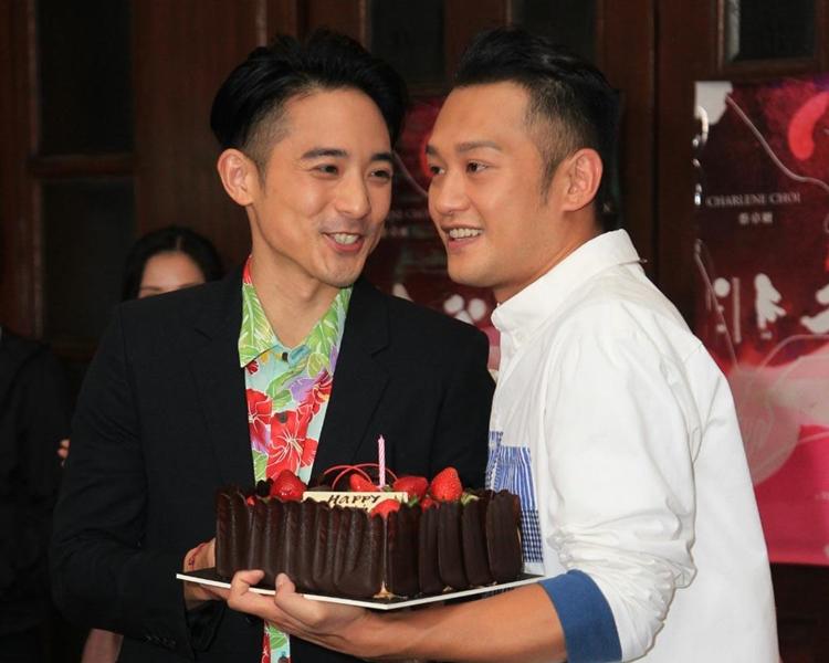 林德信、吳浩康在新片中有親熱戲。