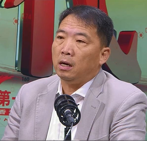 胡志偉表示限制議員發言是錯誤決定。