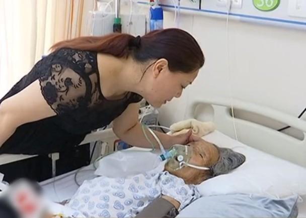 楊女士力排眾議送婆婆入院。(網圖)