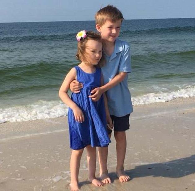 父親形容妹妹Addy是哥哥Jackson最好的朋友、最棒的搭檔、最愛的妹妹。