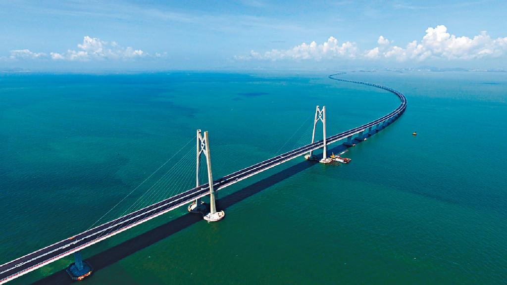 港珠澳大橋。資料圖片