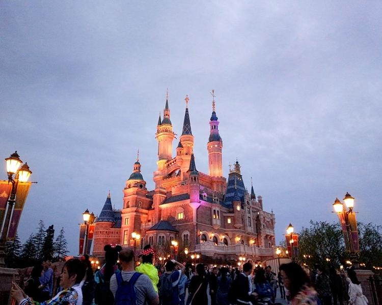 上海迪士尼。網圖