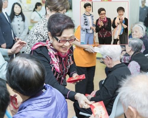 白雪仙探訪老人院 寶珠阿嗲相伴學習善心