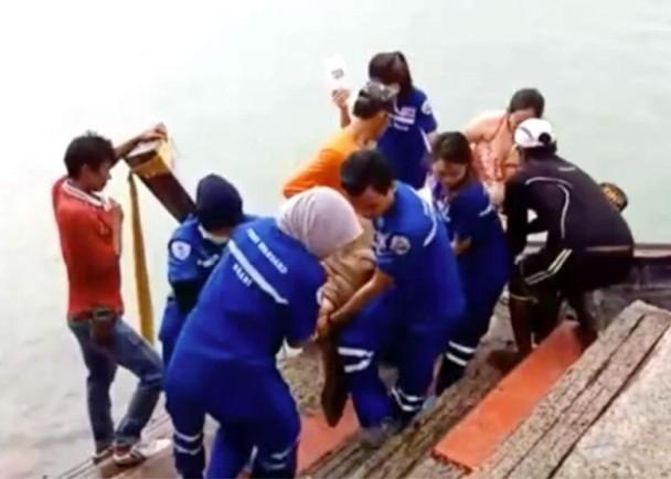 再有中國遊客在遊泰時發生意外,遇溺身亡。(網圖)
