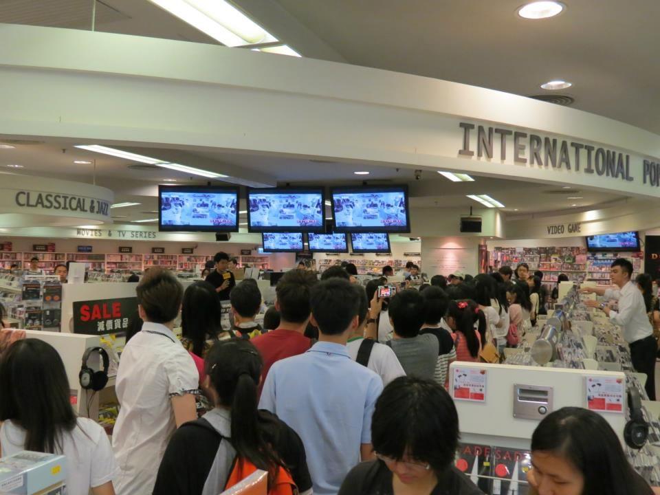 香港唱片FB圖片。
