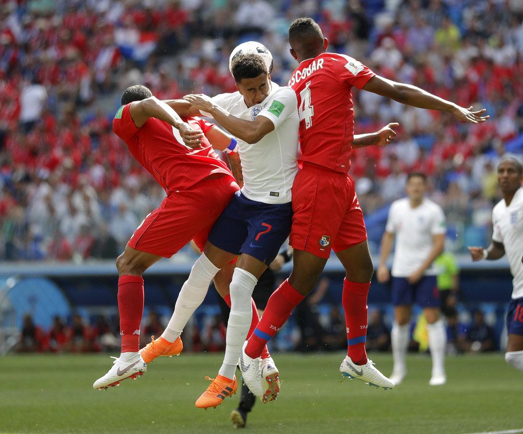 英格兰被看高一线。AP图片