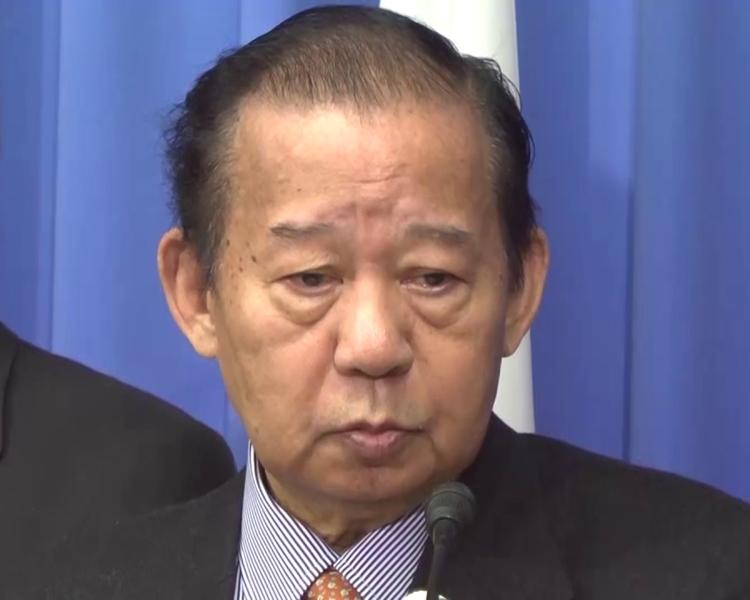 日本執政自民黨幹事長二階俊博。網圖