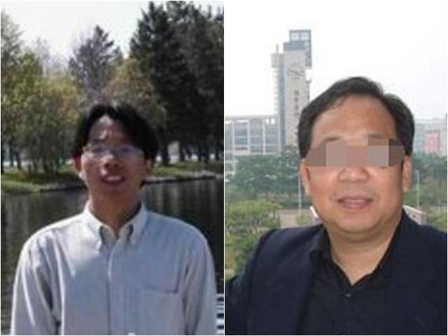 羅交晚(左)及謝冬青(右)。網圖