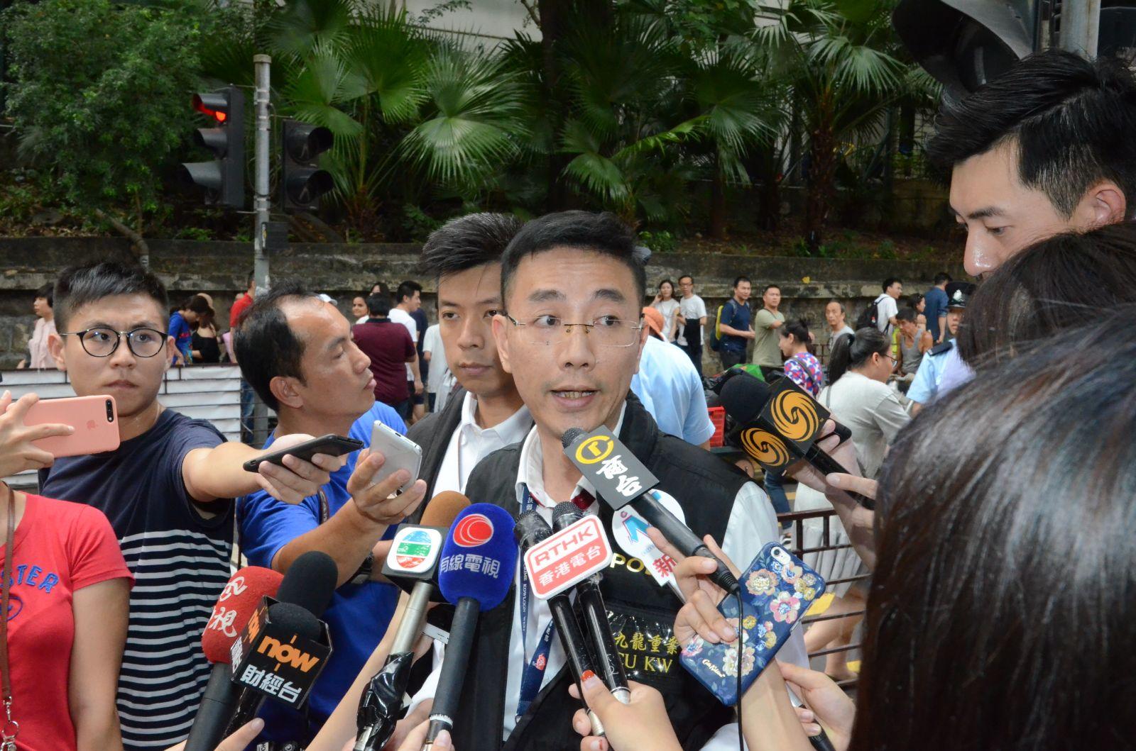 警方西九龍總區刑事總部警司黃志威