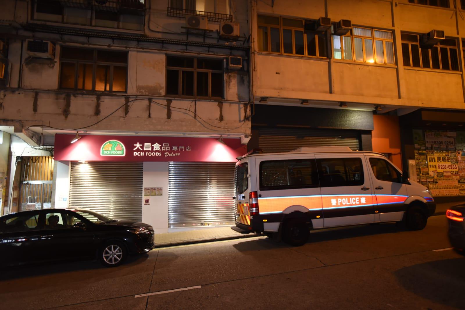 遇劫食品店