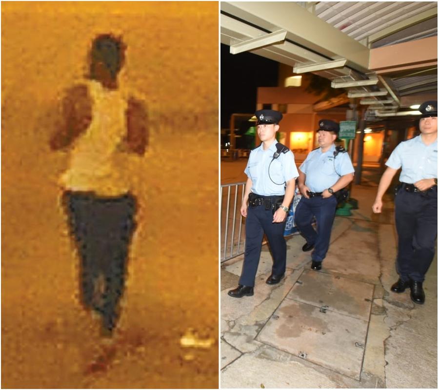 涉案南亞裔色狼被捕(左);警方加強巡查。資料圖片